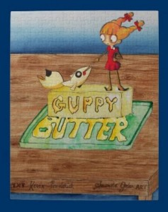 Guppy Butter Cover Puzzle
